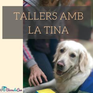 Tallers amb la Tina portada